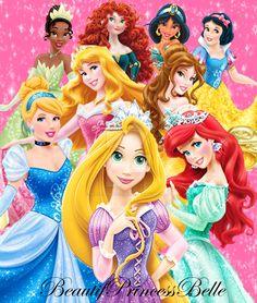 Disney Princess- A Miracle Starts When You Dream by BeautifPrincessBelle.deviantart.com on @DeviantArt