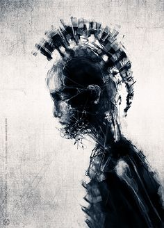 Speedpainting 2 [2012] by Jarek Kubicki, via Behance