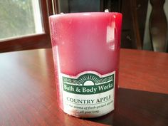 Bath & Body Works Country Apple Candle