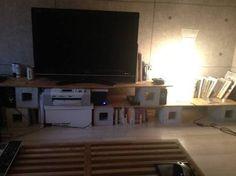 テレビボード 板 ブロック - Google 検索