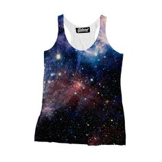 """belovedwear® presents the #Lush Galaxy Tank. This """"all over"""" print Tank-Top is made using a special sublimation technique to provide a vivid graphic image throu"""