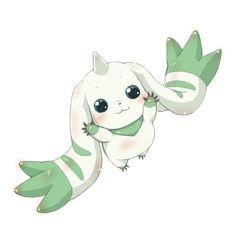 Terriermon ~ one of THE cutest Digimon ever!!!!! X3