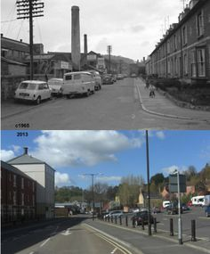 Summerhouse Terrace Then & Now.
