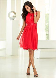Kleid blaugrün - BODYFLIRT jetzt im Online Shop von bonprix.de ab ? 29,99 bestellen. Romantisches Kleid der Marke BODYFLIRT. Mit Satinband in der Taille und ...