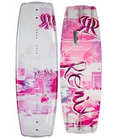 This new shape and women's specific layup allows a rider to edge more effectively into both sides of the wake - redefining the demands needed for toe/heelside versatility. Gone are the days of leaving the wake's transfer in a unnatural position. The new Krush recognizes that your body is crossed up riding toeside, and takes this into consideration with the design of the rocker, fin shape/placement, and new sharper profile allowing the rider to point the board with maximum grip to the wake…