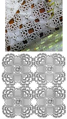 Crochet Wool, Crochet Motifs, Crochet Blocks, Easter Crochet, Crochet Diagram, Crochet Squares, Thread Crochet, Irish Crochet, Diy Crochet