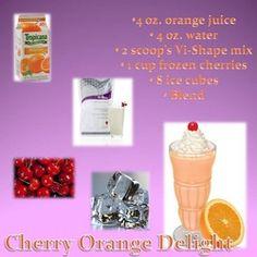 Cherry Orange Delight Vi Shake