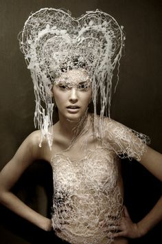 Felicity Faichney costume julie mcguire hair and make-up High Art, Contemporary Art, Culture, Costumes, Wax, Makeup, Dresses, Design, Fashion