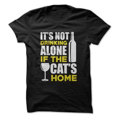 It's Not Drinking Alone if the Cat's Home