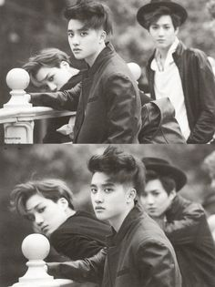 D.O, Kai, Suho - 160209 First official photobook 'Die Jungs' - [SCAN][HQ] Credit: Romantiker Kid, D.O.