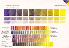 I love colour, and find the process of colour mixing fascinating. I have created many watercolour mixing charts over a number of years that are very useful in my teaching and enabled me to be...