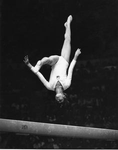 Nadia Comaneci   Romania's Nadia Comaneci performs on the balance beam during the 1976 Summer Olympics in Montreal. She won the gold medal in the all-around ...