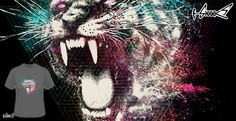 T-shirts - Design: White Fang - by: Anthony Aves
