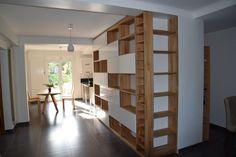 bibliotheque portes coulissantes chene massif Divider, Room, Furniture, Design, Home Decor, Bedroom, Decoration Home, Room Decor, Rum