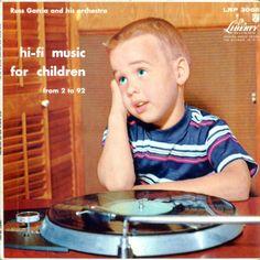 Hi-Fi Music for Children from 2 to 92.  #vinyl #records http://www.pinterest.com/djspyder/edisons-medicine-vinyl-records/