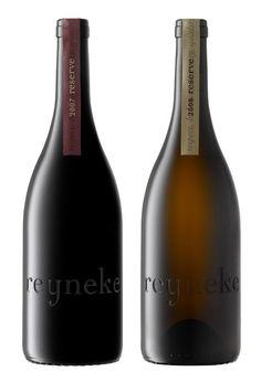 Gorgeous etched wine bottles for Reyneke Reserve. Designed by New Zealand based Anthonly Lane.