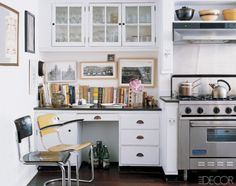 Great use of space in the kitchen, where I spend most of my time.