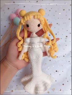 Crochet Doll Tutorial, Crochet Doll Pattern, Crochet Dolls, Crochet Patterns, Kawaii Crochet, Crochet Disney, Crochet Baby, Amigurumi Doll, Amigurumi Patterns