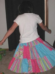oh how my girls love twirly skirts