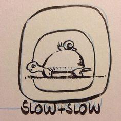 #inktober #inktober2016 #slow #slug #turtle #lentiacontatto