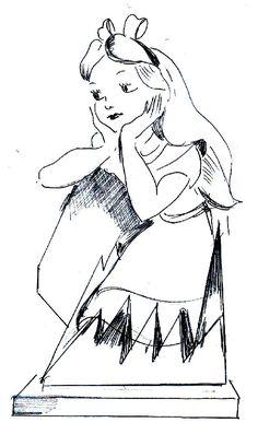 3D Alice Sketch