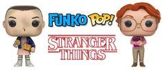 Coleção Funko Pop Vinyl de Stranger Things #StrangerThings #Funko