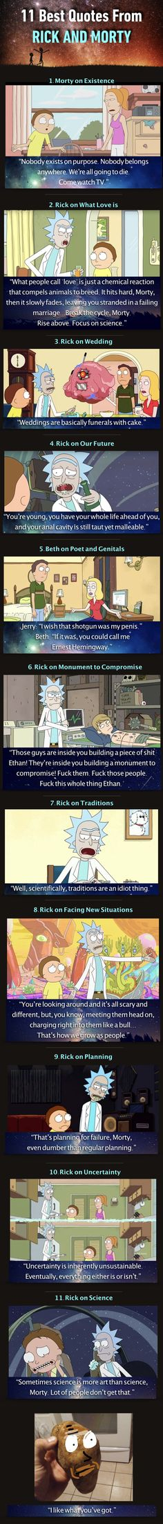 11 Best Rick And Morty Quotes Of All Time