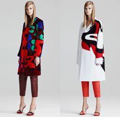 Alexander McQueen 2015 Resort Womens Lookbook Presentation - 2015 Cruise Pre Spring Fashion Pre Collection - Sculpted 3D Flowers Florals Embellishments Embroidery Gown Dress Exaggerated Hips Checks Laser Cut Ruffles Sleeveless Cropped Pants Capri Trousers Furry Bomber Jacket Leather Geometric Pop Art Oversized Outerwear Trench Coat Cross Coatdress  Belted Waist Accordion Pleats