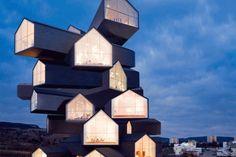Axel de Stampa nous a contacté pour nous présenter son dernier projet fait en solo. Ce projet pose la question du mouvement en architecture. Par l'utilisation du format gif, les mouvements se répètent indéfiniment, les bâtiments s'animent, et révèlent leur vraie nature. « En abordant le sujet du mouvement en Architecture, on évoque naturellement la 4ème dimension qu'est le temps. Il s'agit du mouvement du corps dans l'espace et l'accumulation des points de vue en parcourant un bâtiment...
