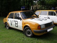 Police Vehicles, Police Cars, Socialism, Car Manufacturers, Czech Republic, Classic, Classical Music