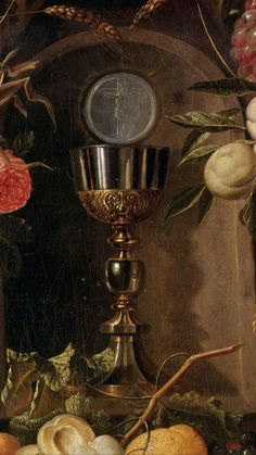 Bread and wine, oil and water. The precious gifts of life in the Old World are holy in the Church.
