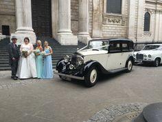1936 Vintage Rolls Royce and DS420 Daimler Limousine