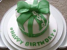 Individual St Patricks day birthday cakes!
