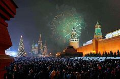 Moscow - New Year's Eve