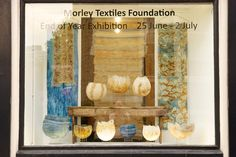 Morley Private View 34  #morleycollege #jonathandredge #textilefoundation Textile Art, Foundation, Textiles, Nature Inspired, Exhibitions, Gallery, College, Painting, Inspiration