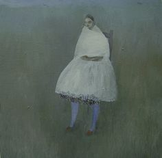 Kristin Vestgård  Song  Oil on canvas              2006, 50-50cm