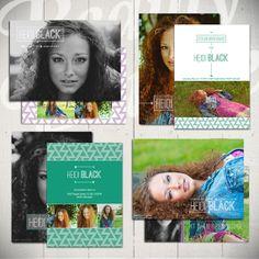 Senior Announcement Card Template
