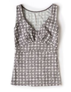 Like the print and fit of this tank.