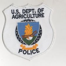 US Department of Agriculture Police Patch