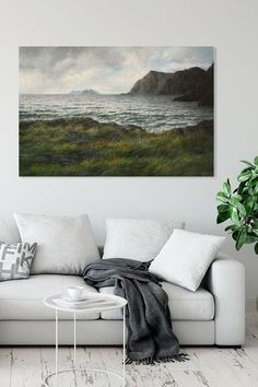 Adorn your wall with a seascape from the North of Norway. Available as Fine Art print, canvas print, metal print and much more! Wall Art Prints, Fine Art Prints, Canvas Prints, Melville Moby Dick, Seascape Paintings, Nature Paintings, Leagues Under The Sea, Tree Wall Art, Art Sites