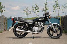 Gerestaureerde Suzuki GS 550 1979 #tekoop #aangeboden in de groep van Motortreffer #motorentekoopmt #motortreffer #suzuki #suzukigs #suzukigs550 #suzukiclassic