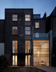The House on Bassett Road is a Victorian townhouse located in Kensington, West London that recently underwent a modern renovation by Paul+O Architects.