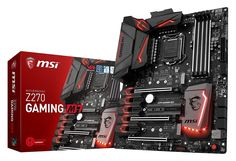 MSI Intel Z270 DDR4 VR Ready HDMI USB 3 ATX Motherboard (Z270 Gaming M7)