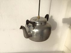 Amazing vintage SWAN tea pot made in UK. After a lot of hunt i found it online and made an extremely detail modification. All wires and porcelain lamp holder are of the highest possible quality. Ready to ship to USA! Lamp Holder, Everyday Objects, Porcelain, Porcelain Lamp, China Porcelain, Vintage, Desk Light, Porcelain Dolls, Lights