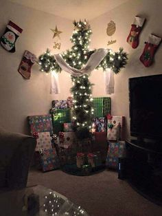 Cross Christmas tree