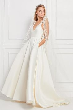 Wedding Dresses   Abbott's Bridal   Canton, OH Bridal Boutique Wedding Dress Sizes, Bridal Wedding Dresses, Designer Wedding Dresses, White Wedding Dresses, Wtoo Bridal, Vows Bridal, Minimalist Wedding Dresses, Minimalist Gown, Bridal Gallery