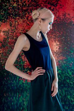 "Photographer: Nastya Openysheva Artist: Anisiforov Sergey Stylist: Oksana Andreeva Molel: Mila Fashion design: CONTRACODE Location: ""Sahar""  #CONTRACODE #fashion #dress #contrast #art"