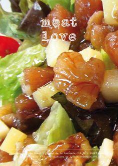 meat love | ensalada de frutos secos con mezcla de lechugas, queso gruyère, reducción de oloroso de jerez y aliño de membrillo: el secreto para cuidarte ¡de forma deliciosa!