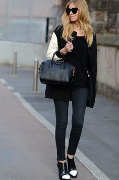 love the ensemble plus the Givenchy bag!