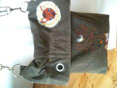 Tasche aus Seesack